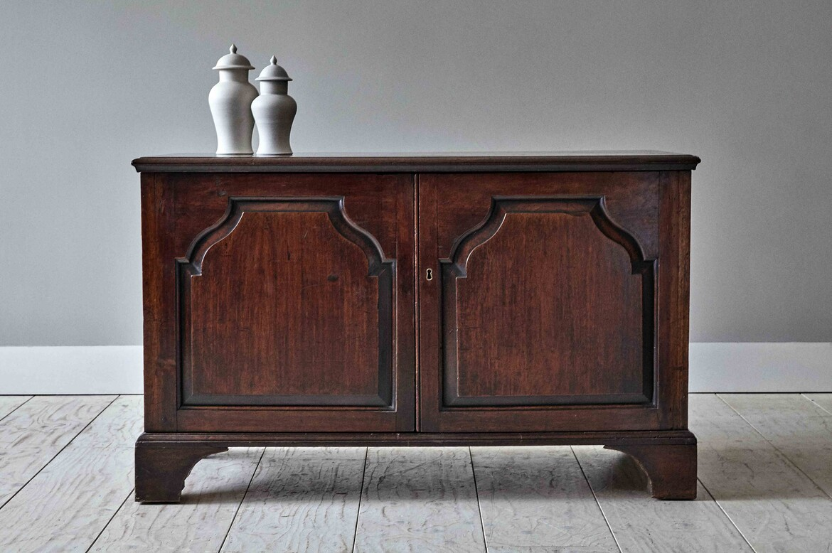 acabinet68 george 2 two door mahogany low cabinet(a).jpg